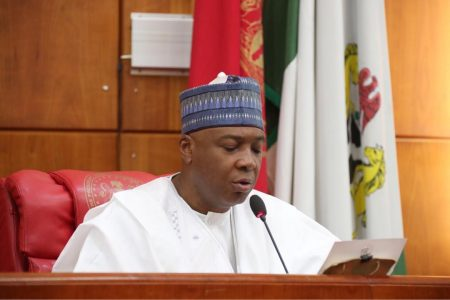 Senator Saraki appointed as IHRC Ambassador 'At Large'