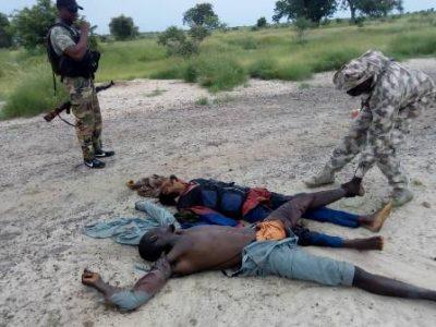 Nigerian troops neutralise Boko Harm terrorists in ambush