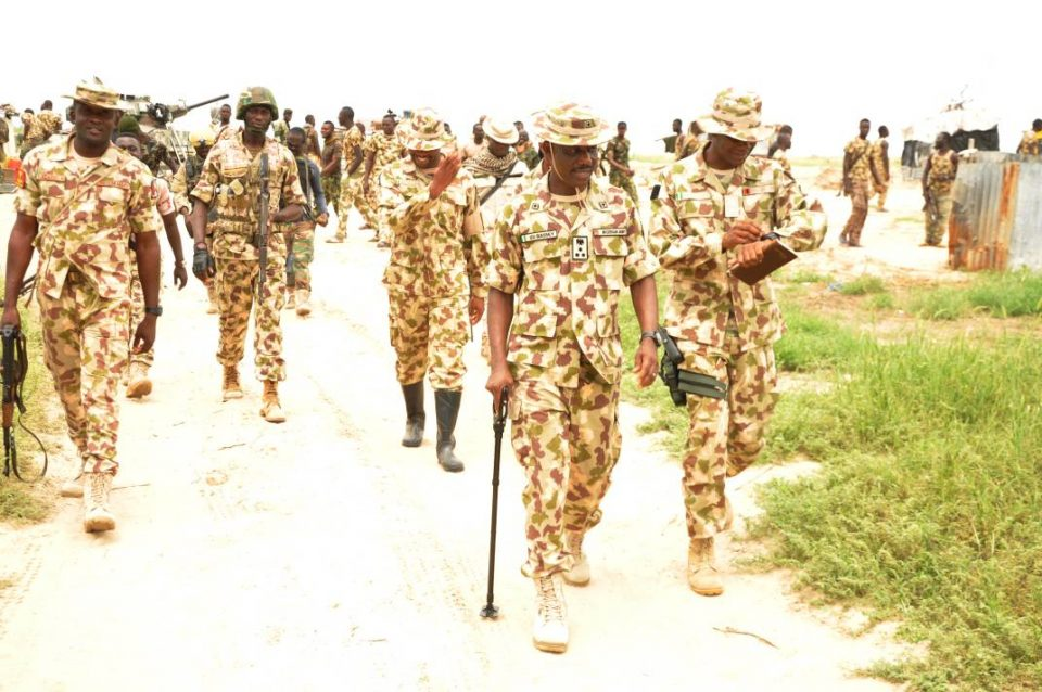 Operation Lafiya dole: Troops charged to maintain a high spirit -  YellowDanfo