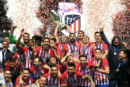 Atletico Madrid beat Real Madrid 4-2 to win Super Cup