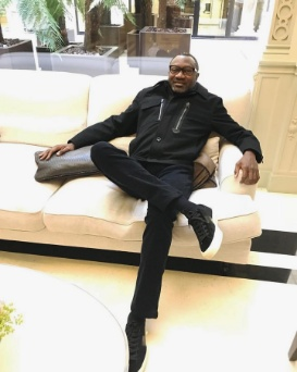 Lovely Day in Paris away from the Lagos Storm- Otedola