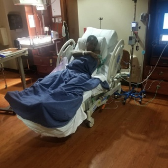 Blogger Linda Ikeji finally welcomes her son