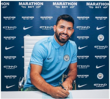 Aguero signs one-year contract extension with City