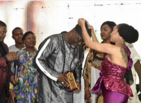 "Tonto Dike crowns Melaye as ""Most outstanding lawmaker"""