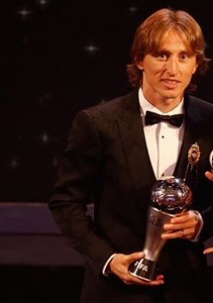 Breaking: Luka Modric wins FIFA best player award