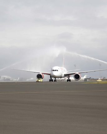 Kenya celebrate inaugural flight from New York to Nairobi