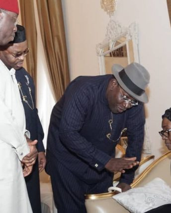 Anenih: South-South Governors commiserate with the family