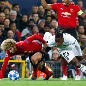 Valencia hold Manchester United to a goalless draw at Old Trafford