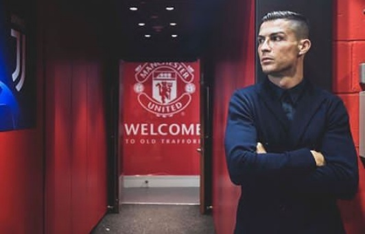 Cristiano makes a return to Old Trafford with Juventus in style
