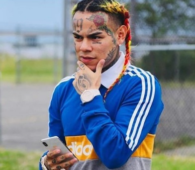 6ix9ine bodyguard shot minutes after he was sentenced for 4years