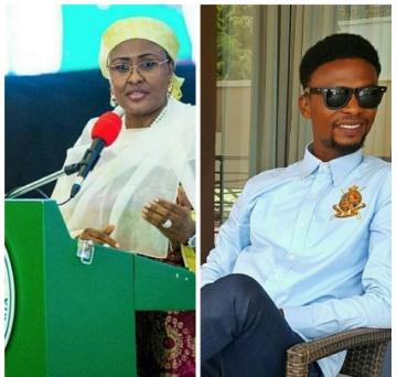 Mrs Aisha Buhari only cries when it involves her family- Igodie