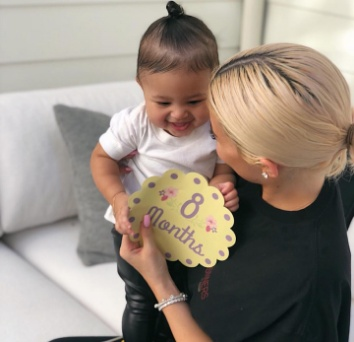 PHOTO: Kylie Jenner celebrates daughter Stormi at 8-month old