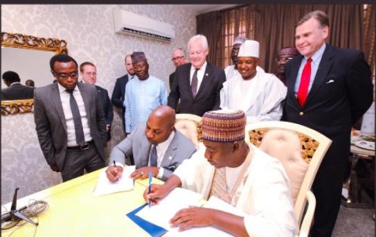 USADF and Kebbi State sign $10m Agricultural enterprise deal