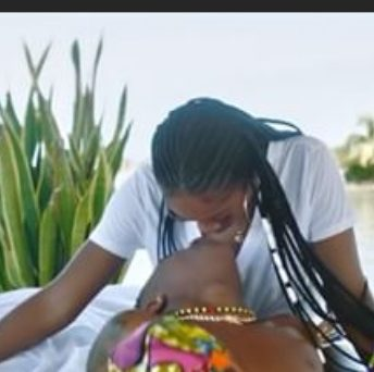 """Nigerians react as Wizkid and Tiwa get lovey-dovey in """"Fever"""" video"""