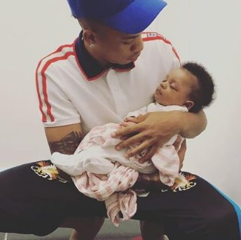 Tekno shares an adorable photo of his daughter