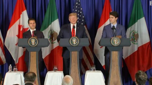 Breaking:US, Mexico and Canada sign new pact to replace NAFTA