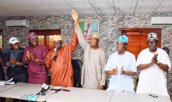 Breaking: Sanwo-Olu picks Dr Femi Hamzat as his running mate