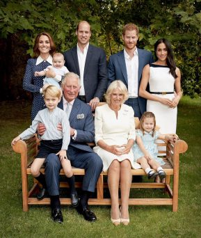 Royal family shares new family photo as Prince Charles turns 70