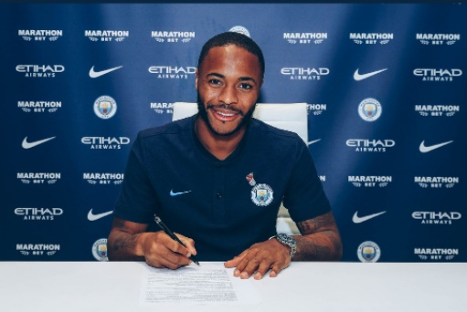 Raheem Sterling signs new £300K a week deal with City
