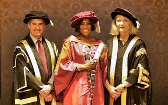 Mo Abudu bags honourary Doctorate Degree from University of Westminster