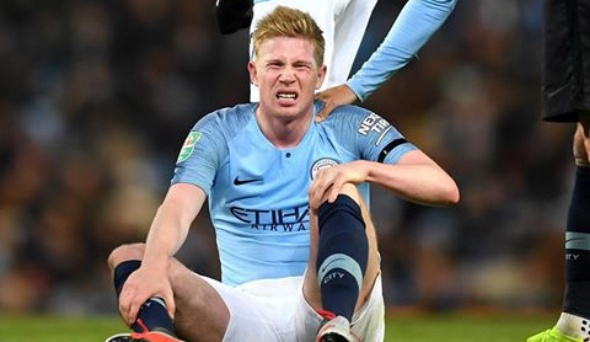 Manchester City: Kevin De Bruyne has been ruled out for six weeks