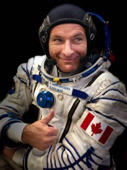 Space trip: Prime Minister Trudeau praised Davis Saint-Jacques