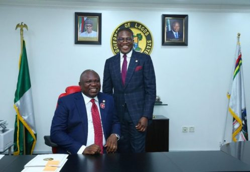 Ambode swears in Muri-Okunola Lagos youngest Head of Service