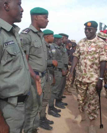 Buratai visits Operation LAFIYA DOLE troops in Borno