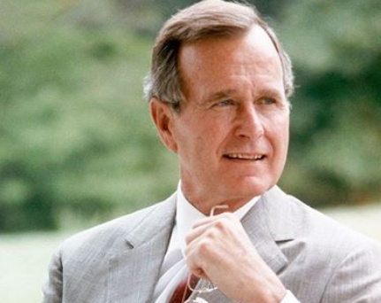 Breaking: Former US President George H.W. Bush has died at the age of 94