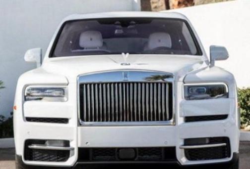 Davido buys himself a Rolls Royce Truck as Christmas gift