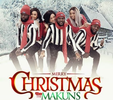 The Makun brothers and wives unveils 2018 family Christmas photos