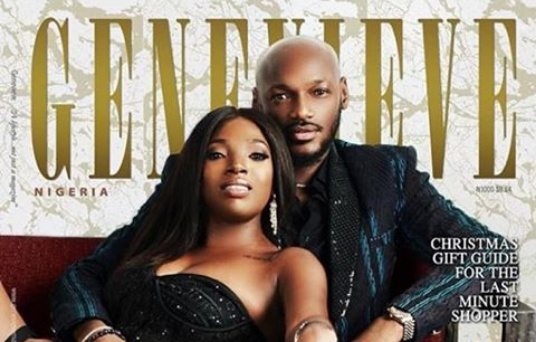 2Baba and wife Annie Idibia covers Genevieve Magazine December Issue
