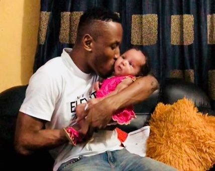 Mr 2kay and Gifty of BBNaija celebrate daughter's birthday