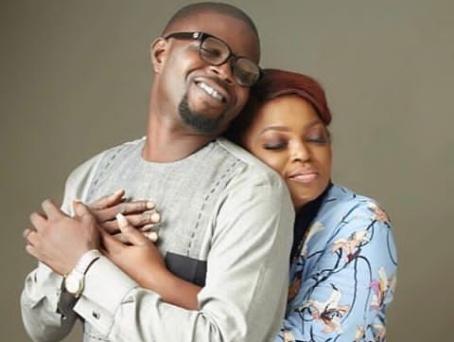 Funke Akindele Bello and husband welcome twins