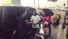 Peter Okoye gives out money and gift items to the needy