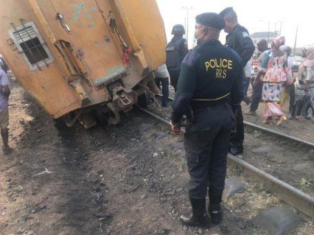 Again Train crushes beggar to death in Mushin Lagos