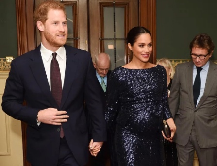 Meghan dazzles in Sequins while on a date with Harry at Cirque Du Soleil