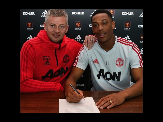 Anthony Martial signs a new £250,000-a-week contract with United
