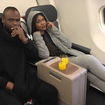Becca shares lovely valentine message to husband Sanni Daniel