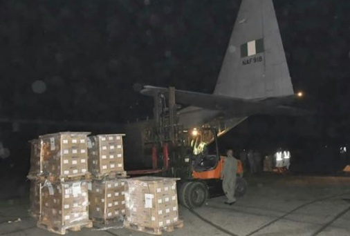 Air Force commences airlift of Electoral materials for INEC