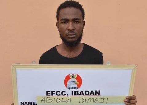 EFCC arraigns one Oladimeji Omotola Abiola over Love scam