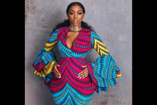 Porsha Williams shares more photos of her rocking African print