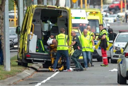 Many feared dead as gunmen attack mosques in New Zealand