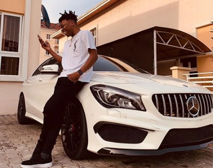 Mayorkun buys himself a N35m Benz for his 25th birthday