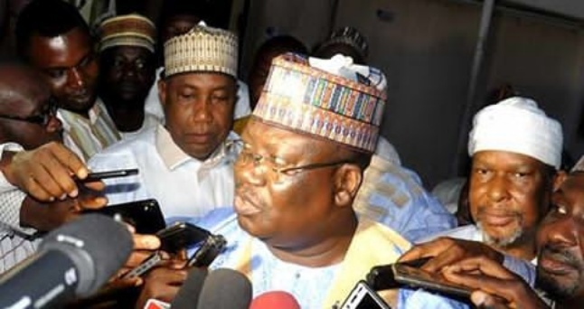 Senate inauguration: Lawan supporters kick against secret ballot