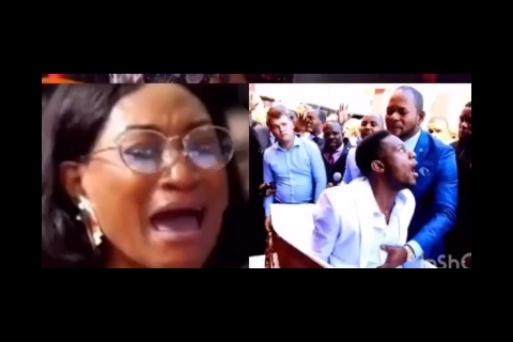 Nigerians react as Oge Okoye visits SA Pastor Lukau for deliverance