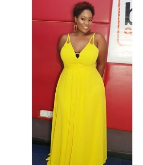 Popular Lagos OAP Toolz Oniru cuts her hair short