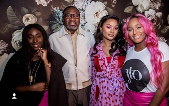 Temi Otedola shares colourful photos from her 23rd birthday party