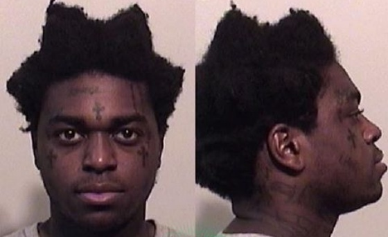 Police released the mugshot for Bill Kapri 'Kodak Black'