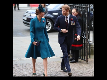 Kate, Prince Harry attend ANZAC service amidst all the rumour